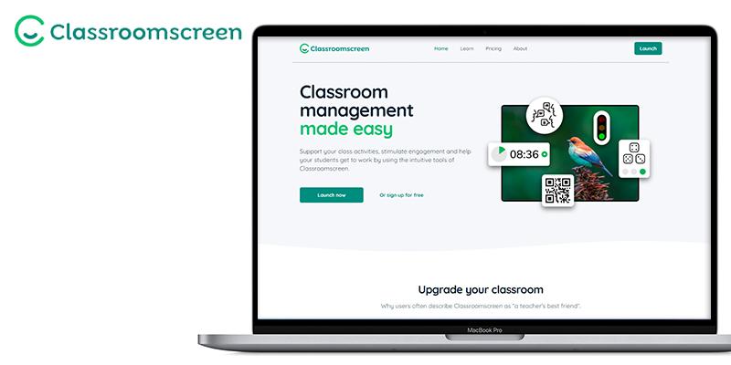 apps per a docents classroom screen